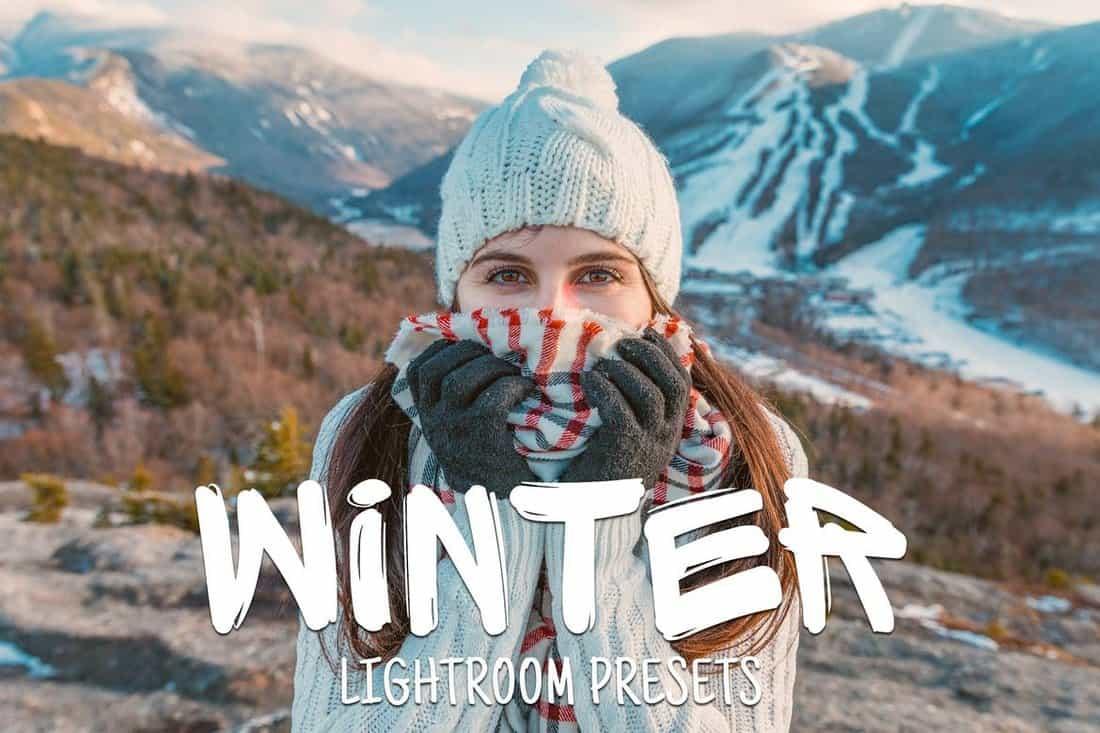 50 Winter Lightroom Presets