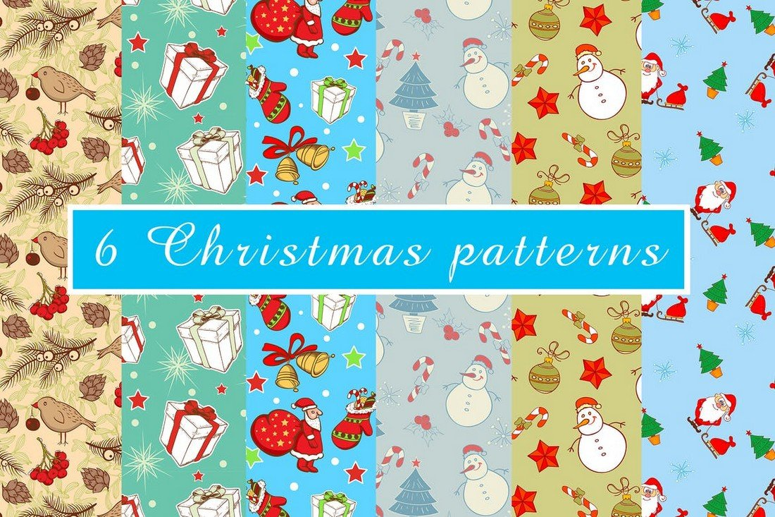 6 Christmas Patterns
