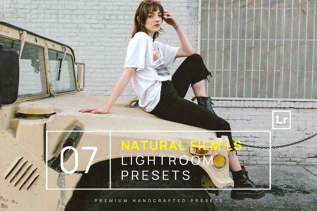 7 Natural Film Lifestyle Lightroom Presets