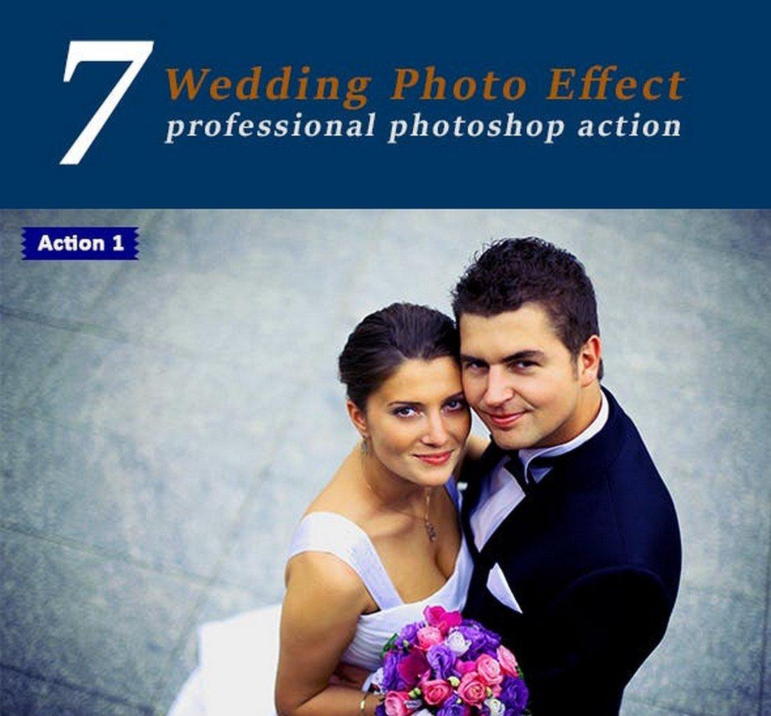 7 Wedding Photo Effect