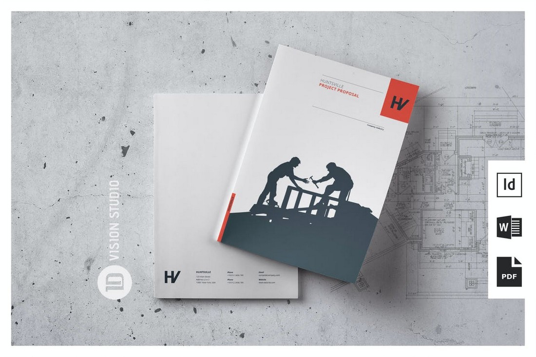 Agency Project Proposal Word Template