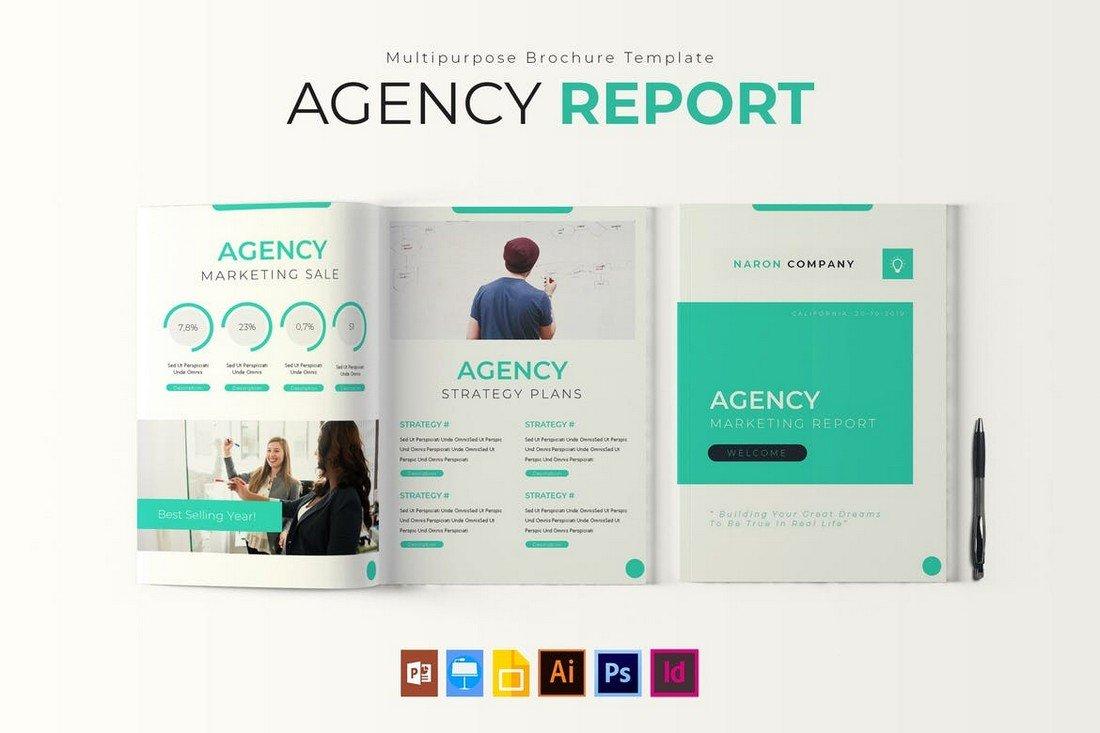 Agency Report brochure