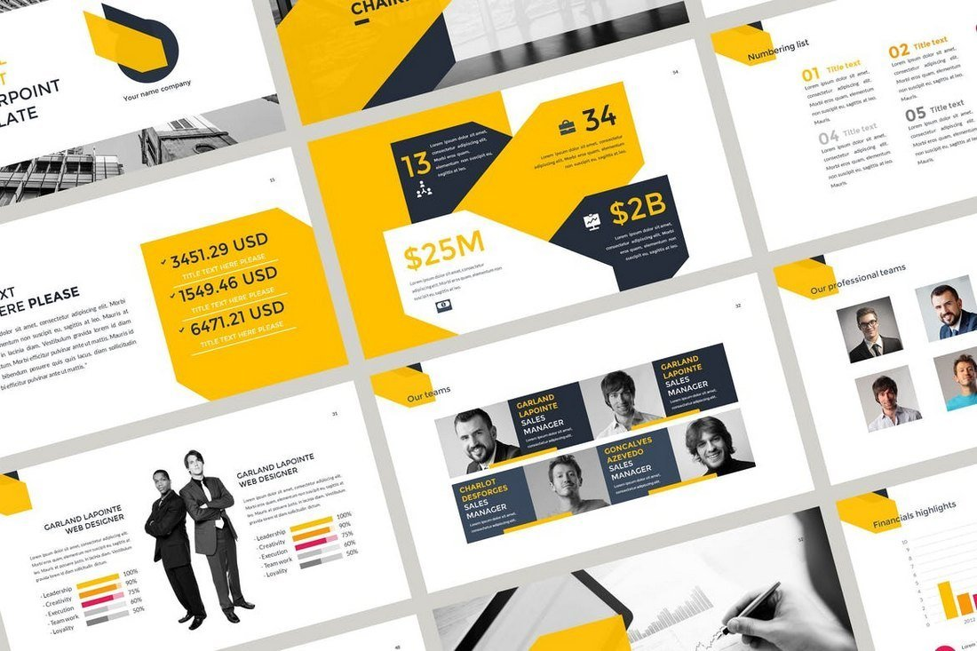 Annual Report - PowerPoint Template