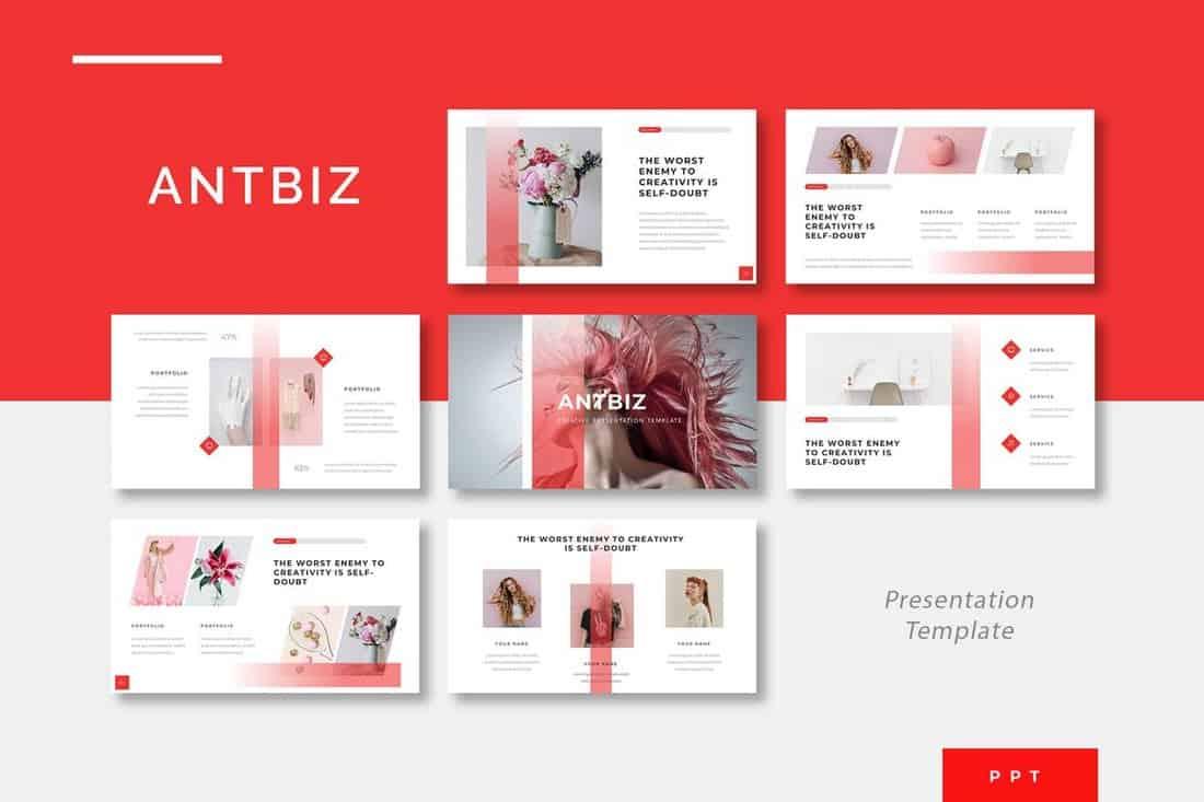Antbiz - Creative Powerpoint Presentation Template