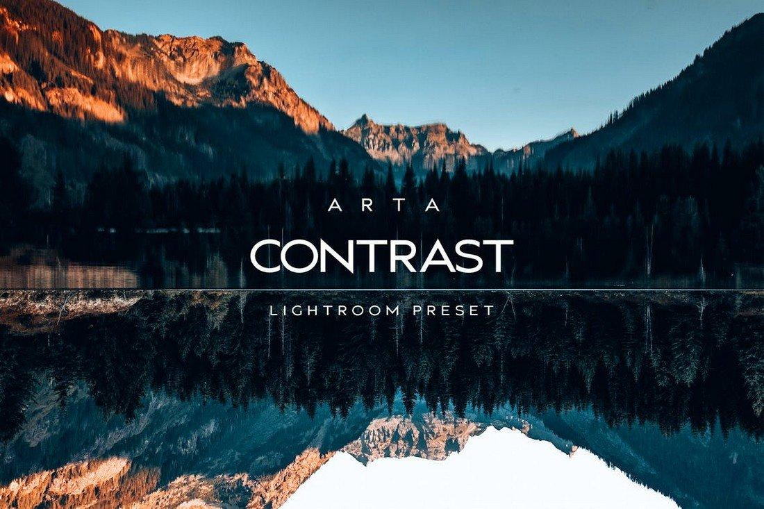Arta Contrast VSCO Lightroom Presets