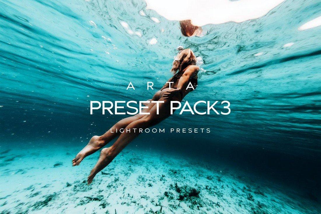 Arta Preset Pack 3 - Outdoor VSCO Lightroom Presets