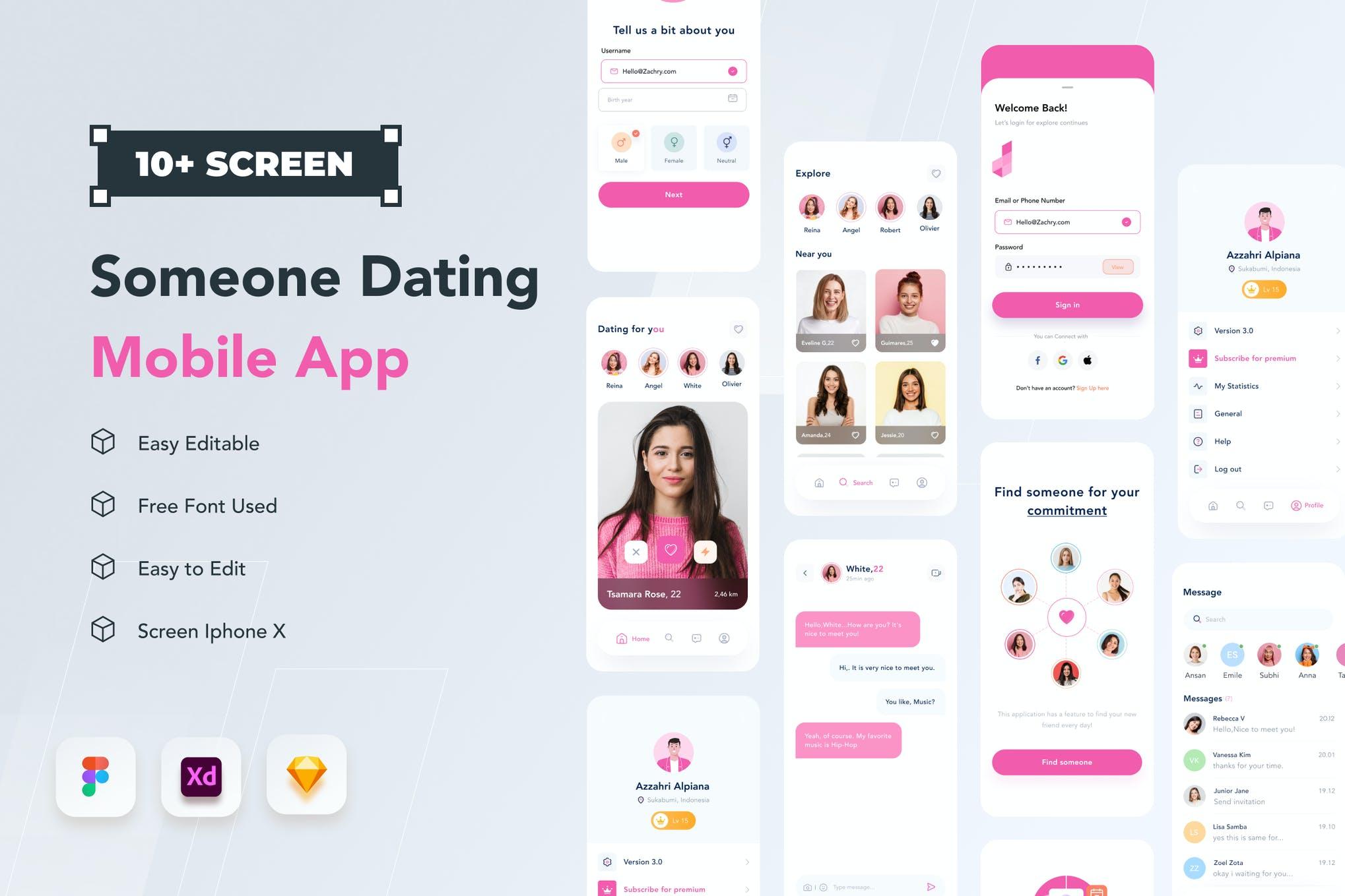 Azztemp-Dating Mobile App