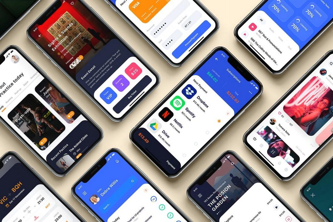 BARIUM - Multipurpose Card-Based UI Kit