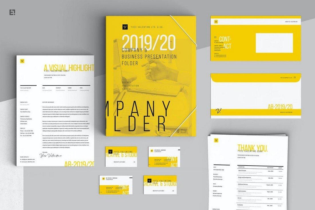 Brand Identity Stationery Templates Kit