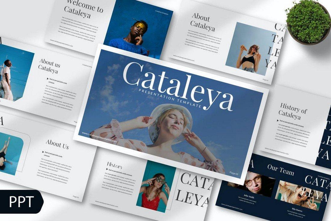 Cataleya - Modern Powerpoint Template