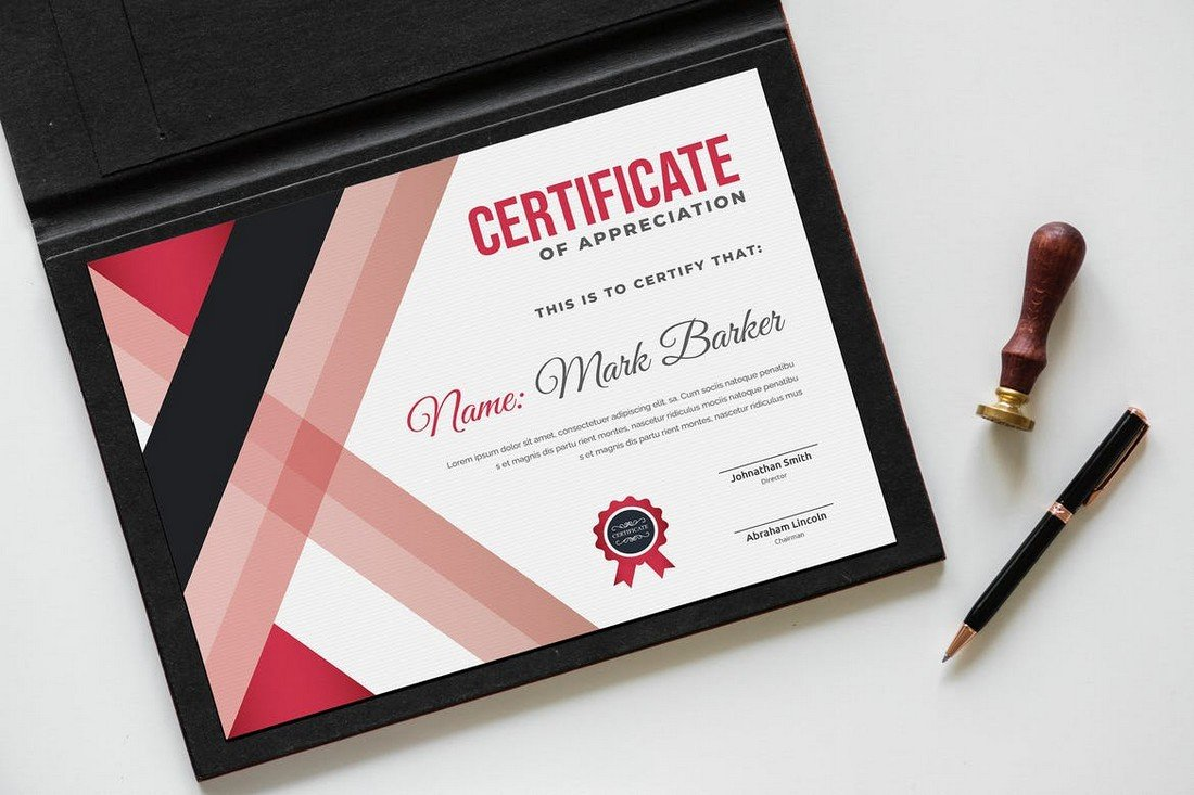 Certificate of Completion Design Template