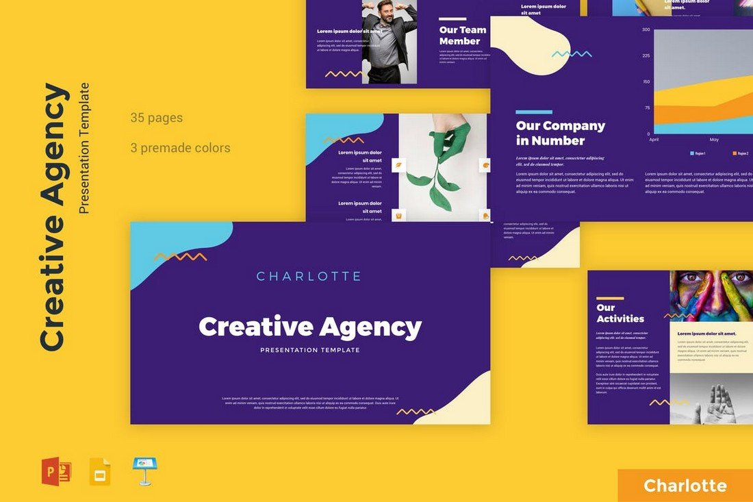 Charlotte - Creative Agency Keynote Template