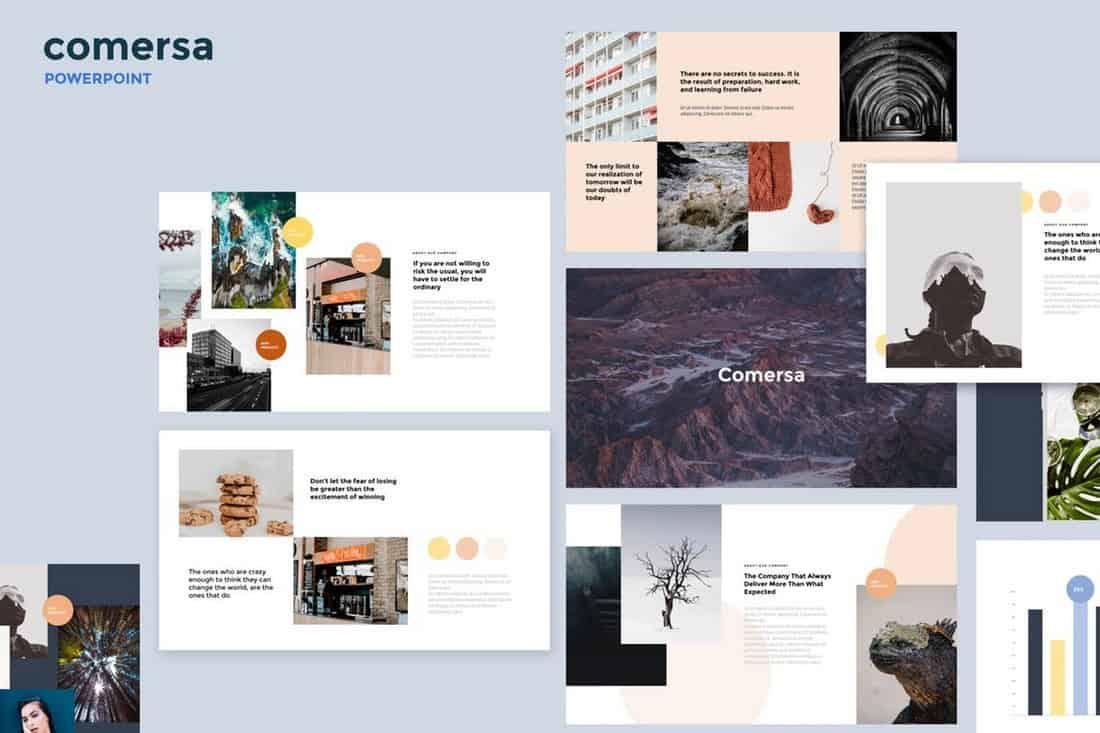 Comersa - Multipurpose Powerpoint Template