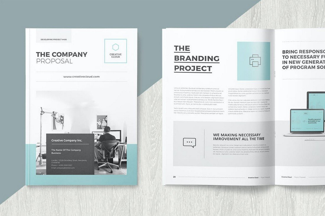 Company Proposal Template for Word