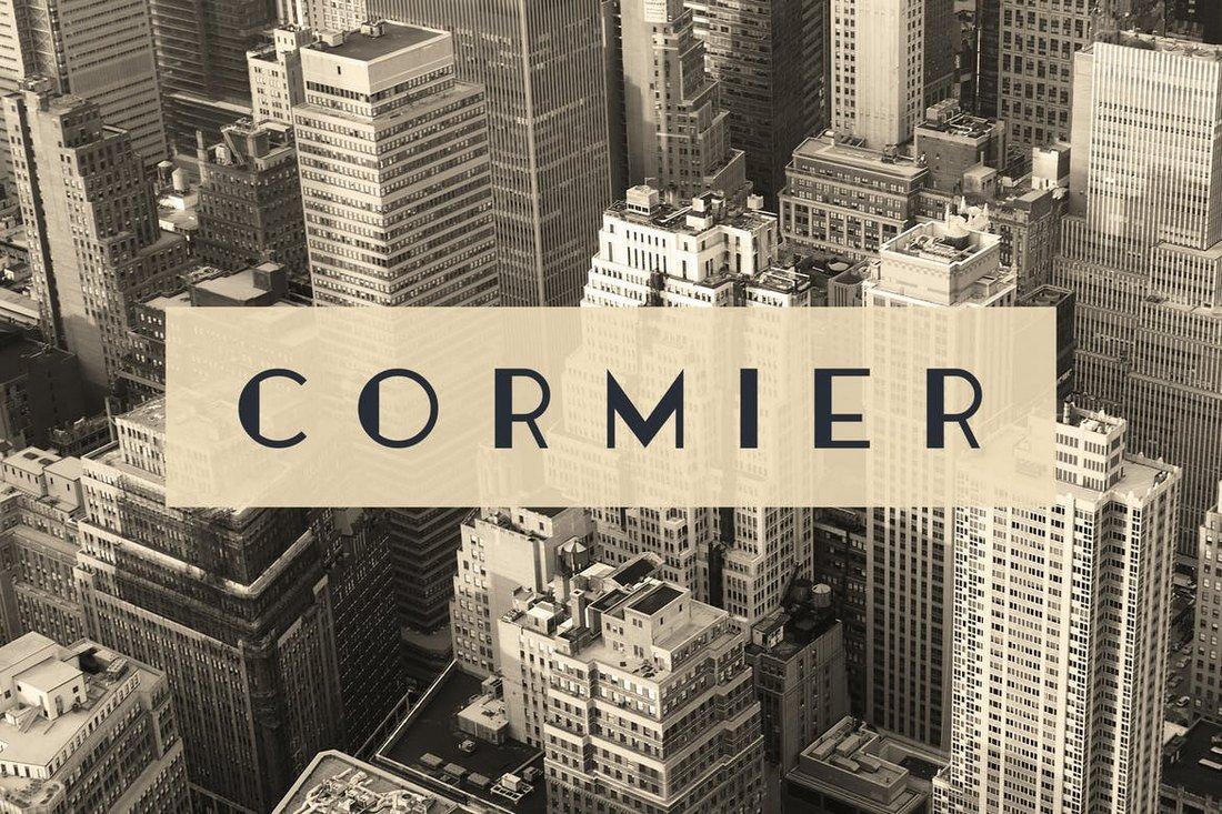 Cormier - Art Deco Font