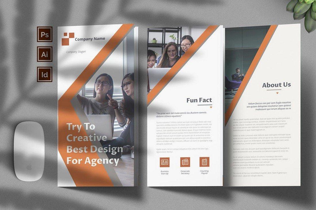 Corporate Agency Brochure Template