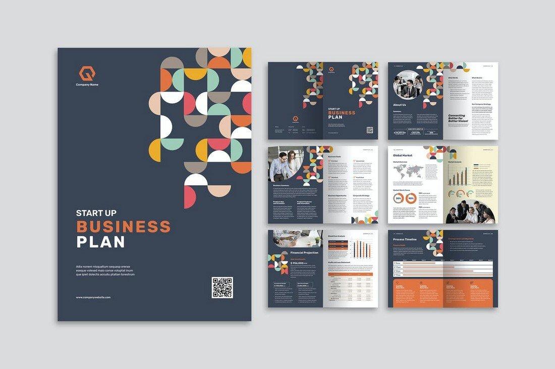 Corporate Business Plan Brochure Template