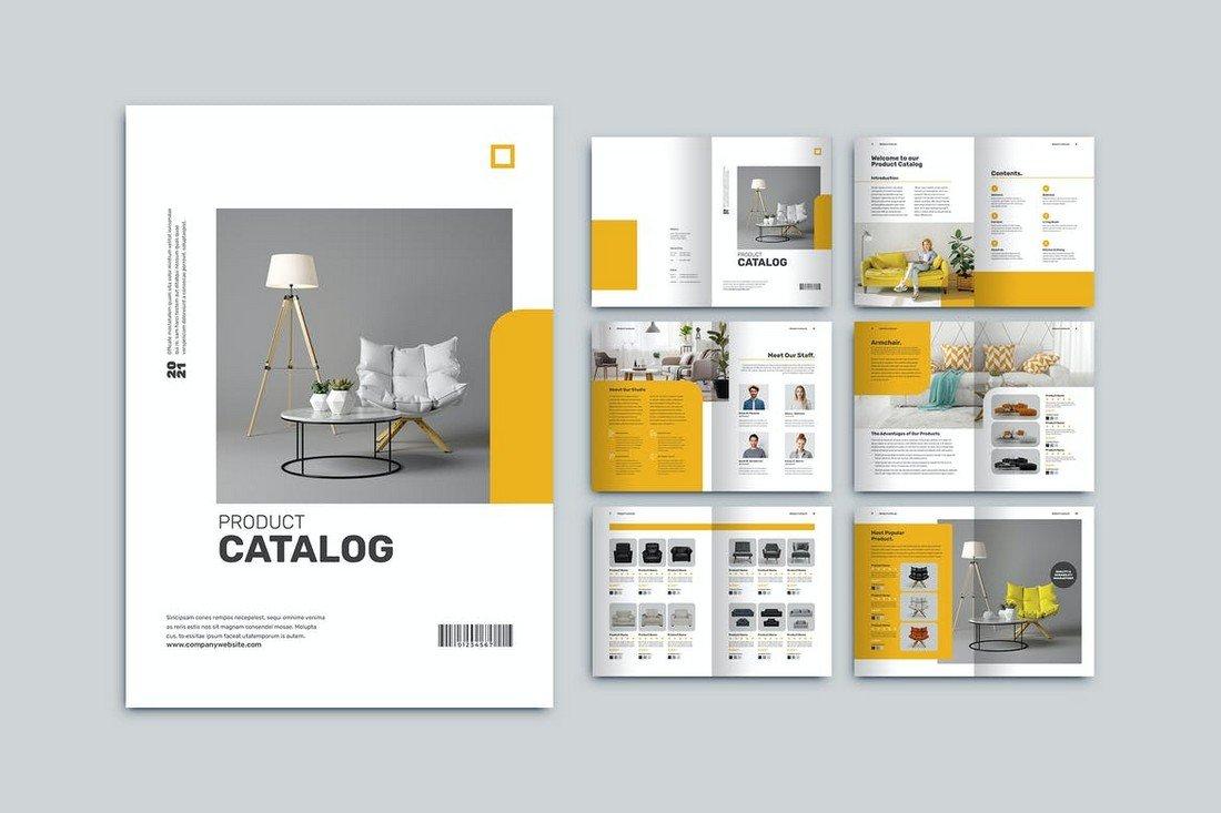 Corporate Product Catalog Brochure Template