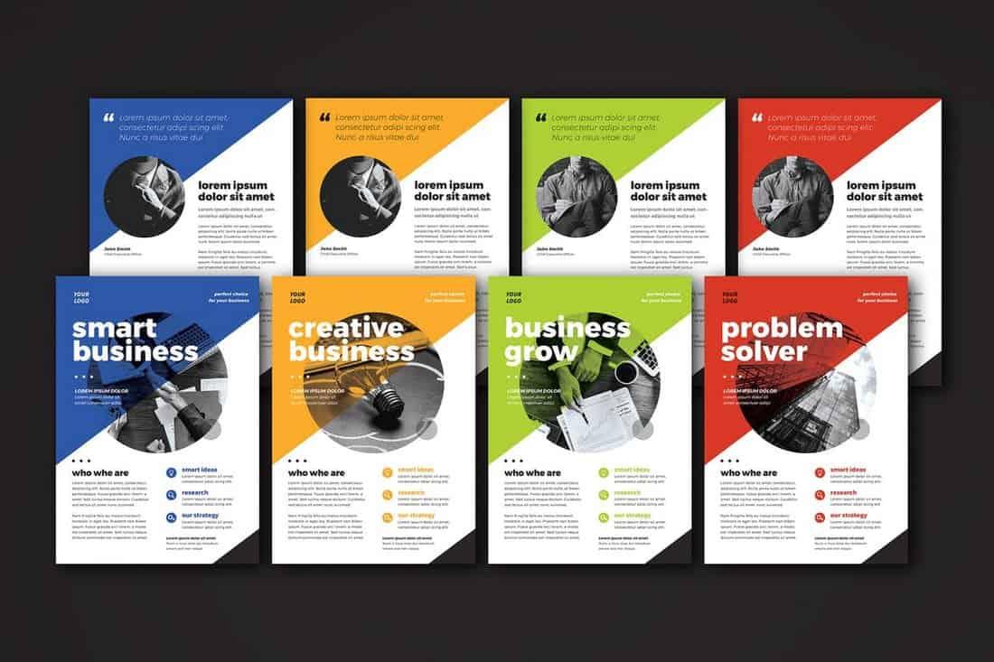 Creative Corporate Flyer Templates