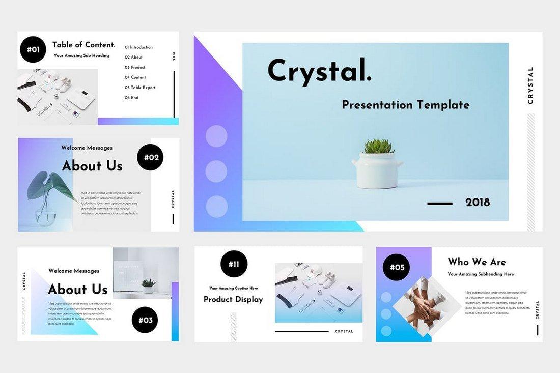 Crystal - Animated Keynote Template