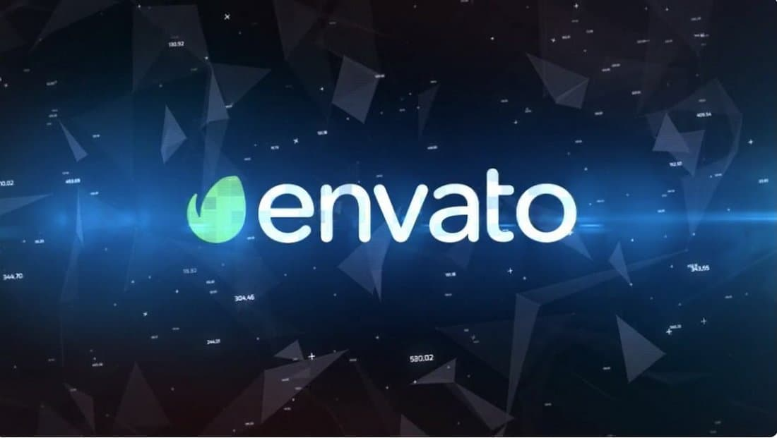 Digital Logo Intro After Effects Template