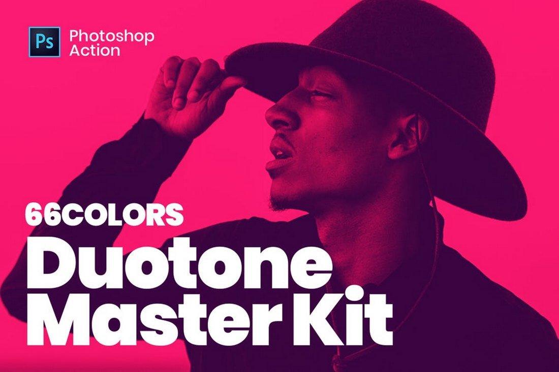 Duotone Master Kit - Instagram Photoshop Actions