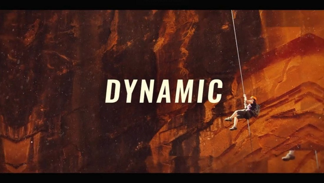 Dynamic Action After Effects Intro Template