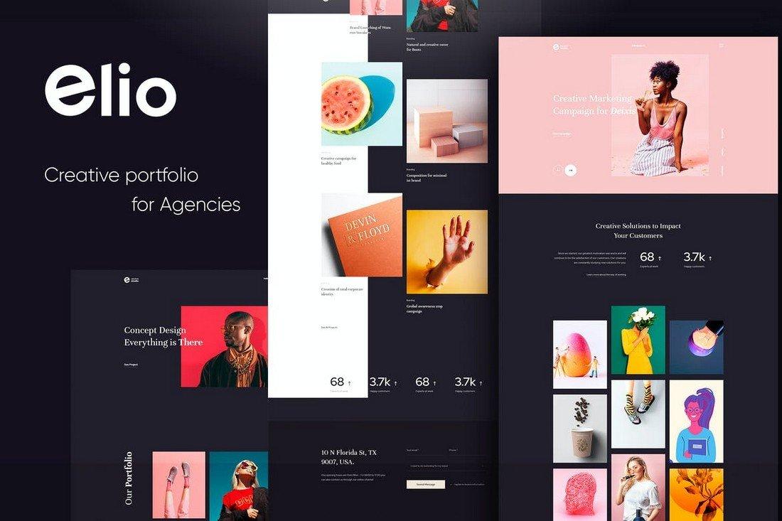 Elio - Creative Portfolio HTML5 CSS3 Template