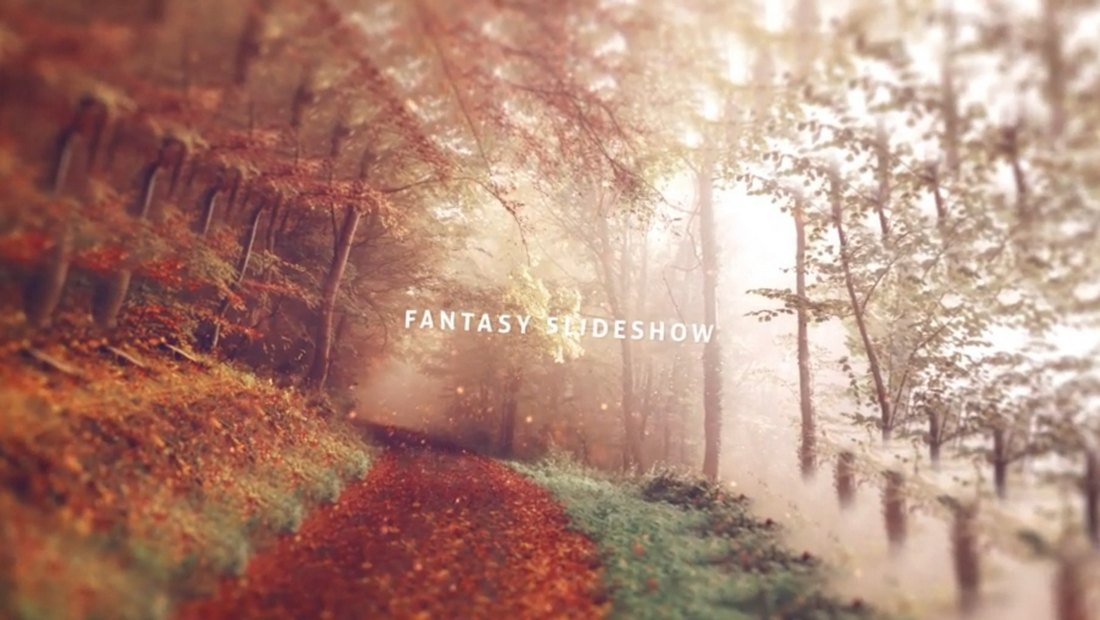Fantasy Slideshow After Effects Template