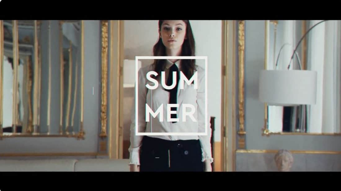 Fashion After Effects Intro Template