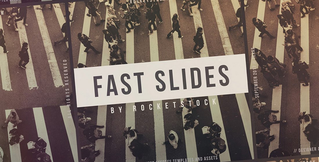 Fast Slides - Free After Effects Slideshow 2