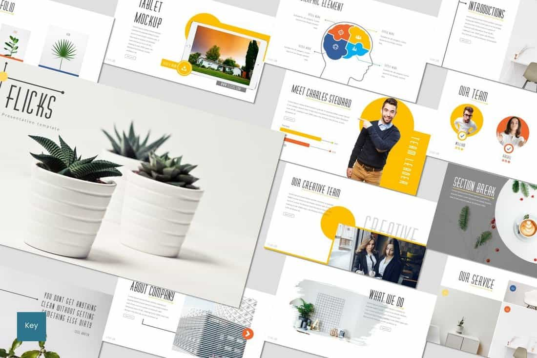 Flicks - Business Keynote Template