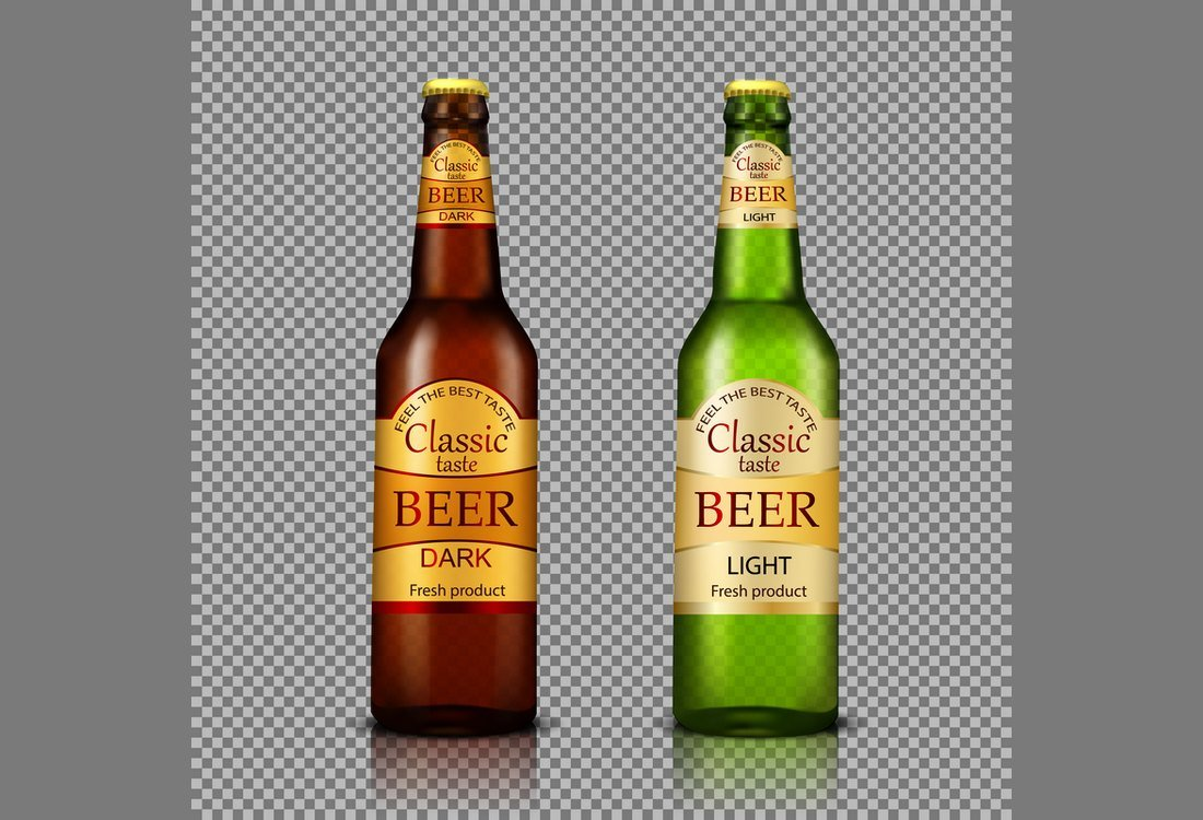 Free Beer Bottle Label Template