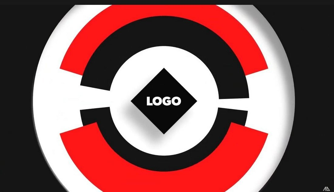 Free Circle Logo Reveal Template for After Effects