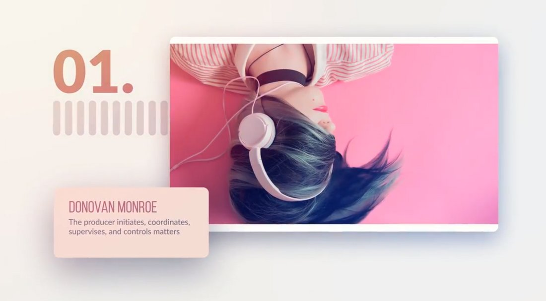 Free Clean Slideshow Template