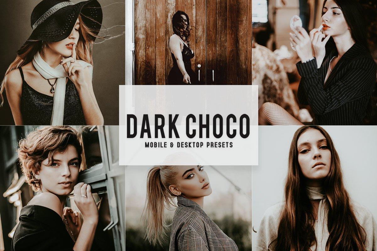 Free Dark Choco Mobile & Desktop Lightroom Presets