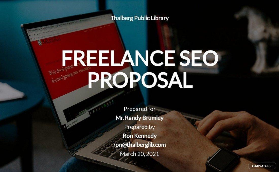 Free Freelance SEO Proposal Word Template