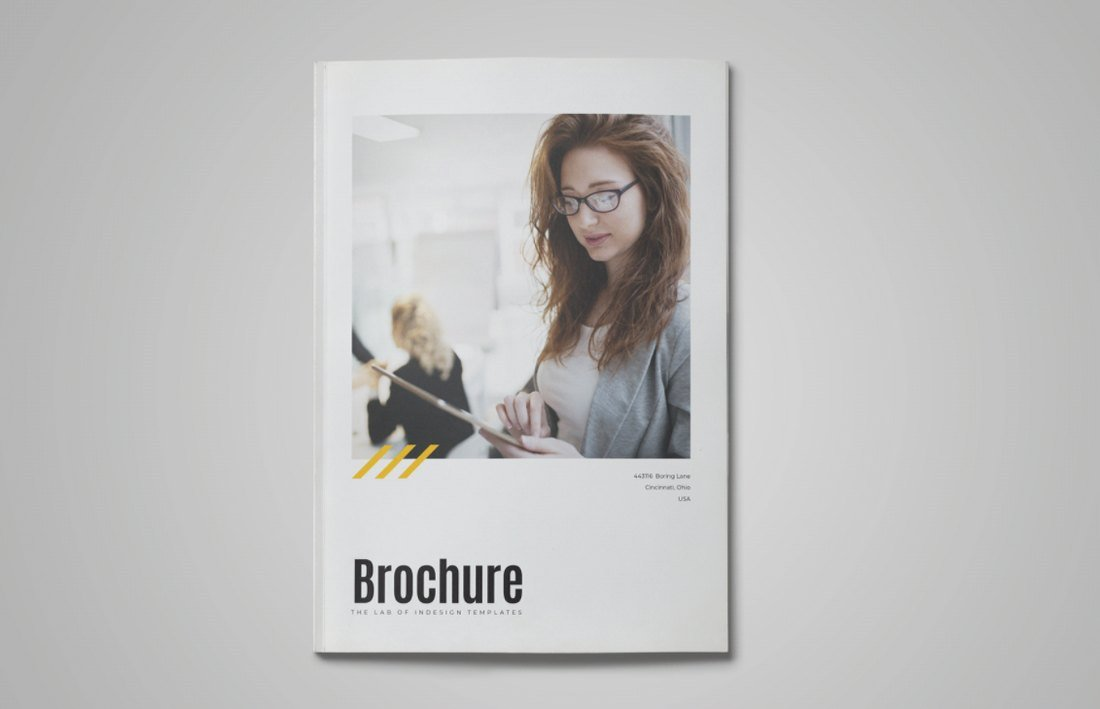 Free Modern Business Brochure Template