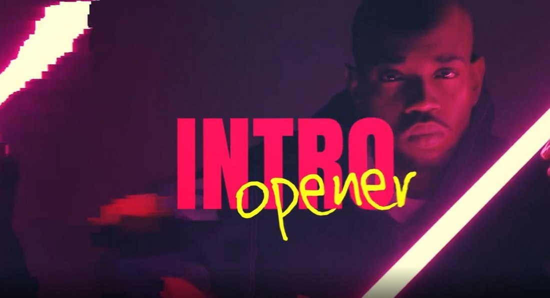 Free Pixel Frame Intro Template for After Effects