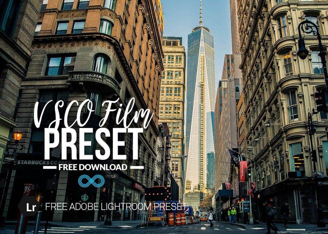 Free VSCO Film Lightroom Preset