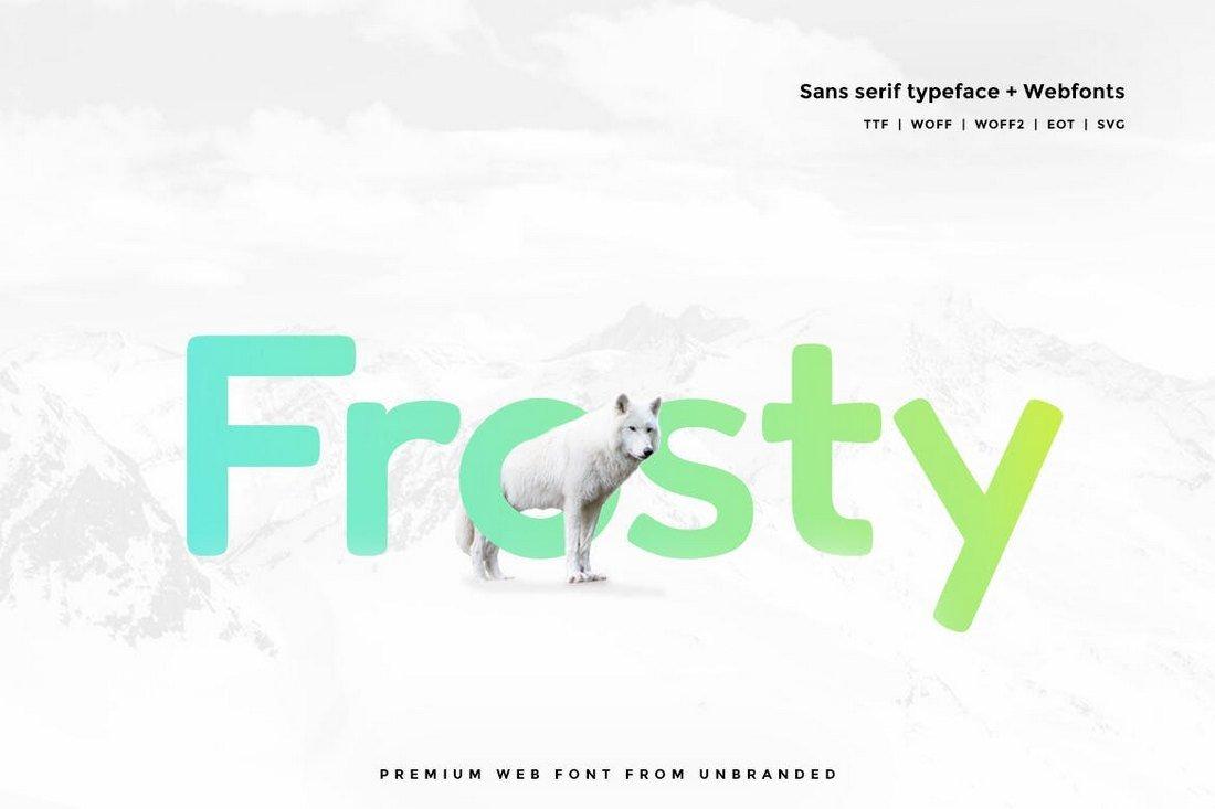 Frosty - Modern Typeface
