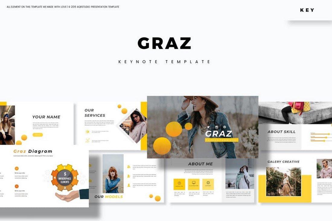 Graz - Creative Keynote Template