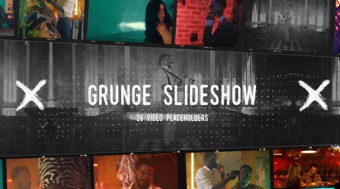 Grunge Vintage Slideshow & Titles for After Effects