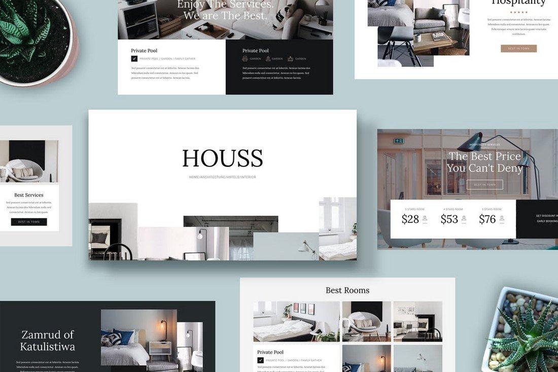 HOUSS - Powerpoint Template