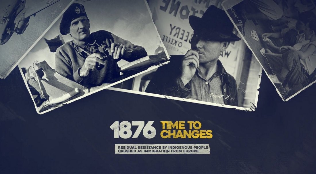 History Slideshow & Timeline Template for After Effects