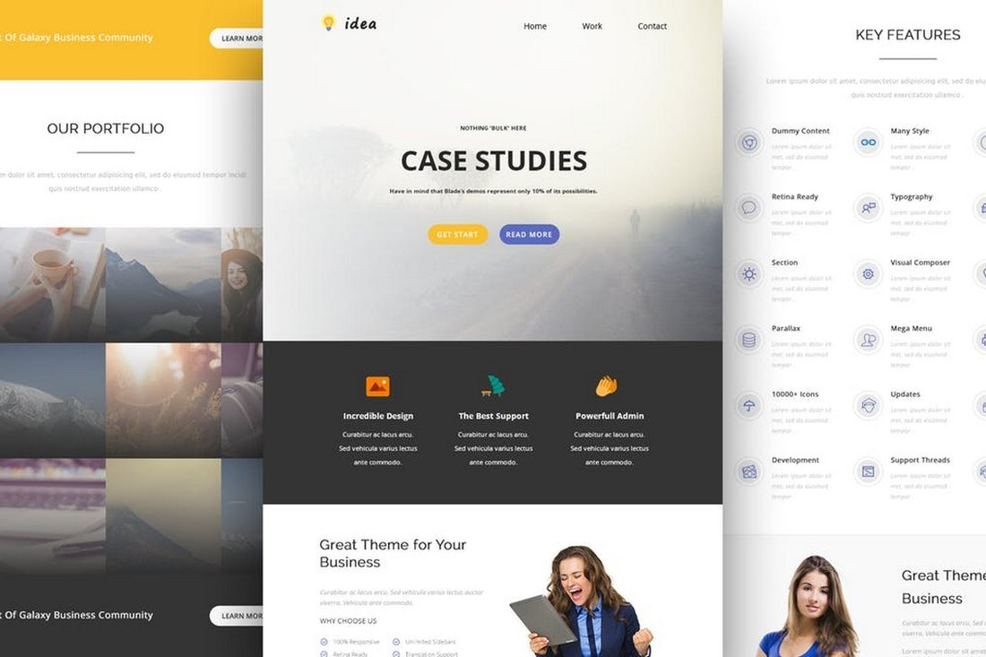 Idea - Creative Email and Newsletter Template