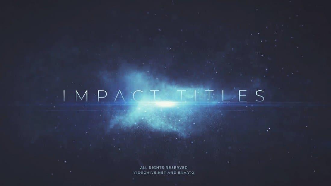 Impact Titles - Premiere Pro Templates