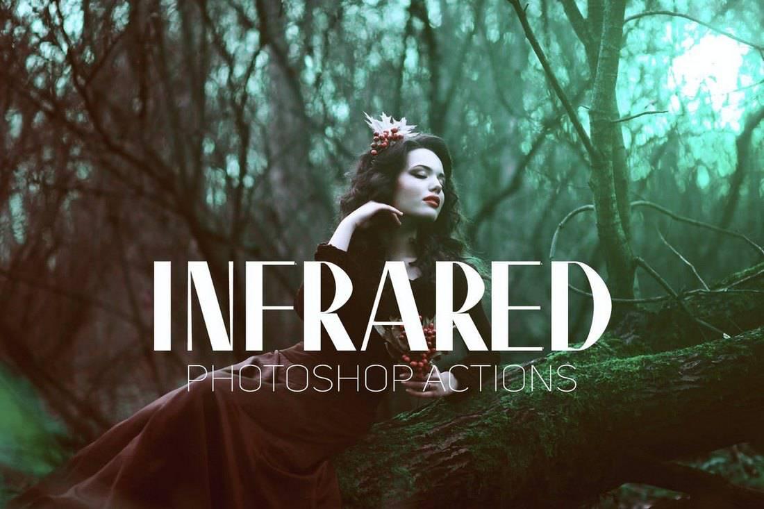 Infrared IR - Instagram Photoshop Actions