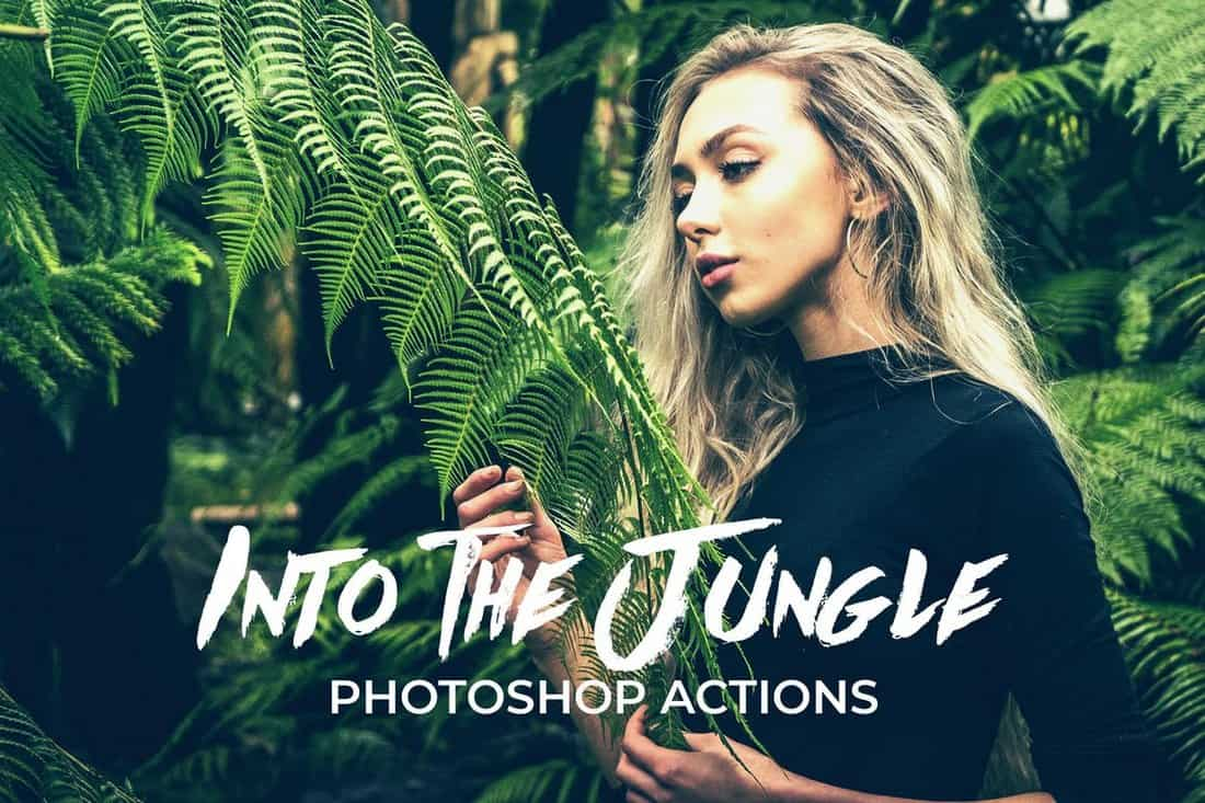 Into The Jungle - Instagram Photoshop Filters