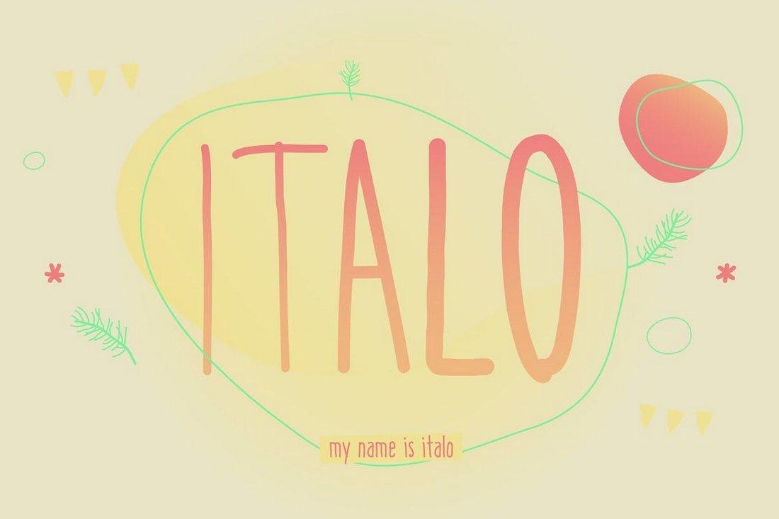 Italo - Creative Font